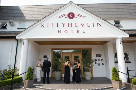 Killyhevlin Lakeside Hotel & Lodges: Entrance