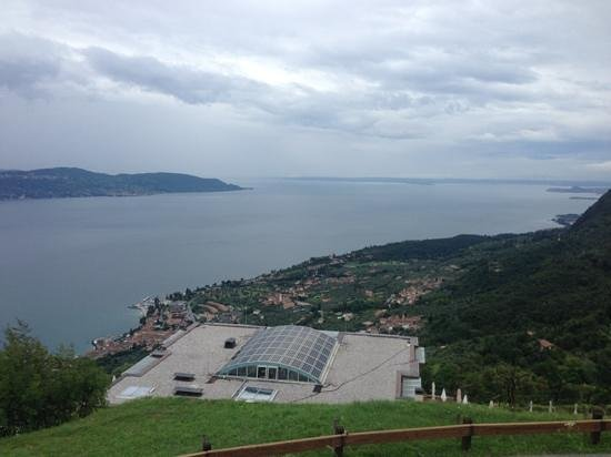 Lefay Resort & Spa Lago di Garda : View from the grounds behind the hotel