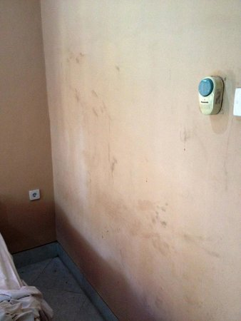 Hotel Lusa: Le mur d'une chambre