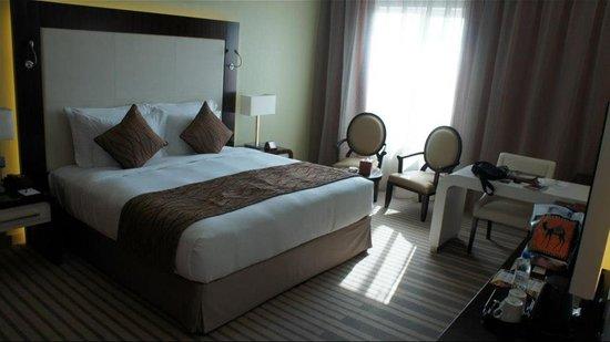 Coral Dubai Al Barsha Hotel : 酒店房間