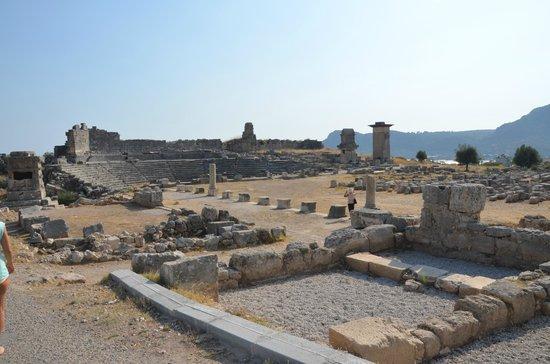 Xanthos - Lycian Antique City : Genel görünüm