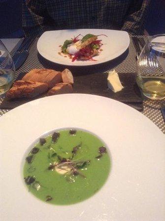 Celeste Restaurant: starters