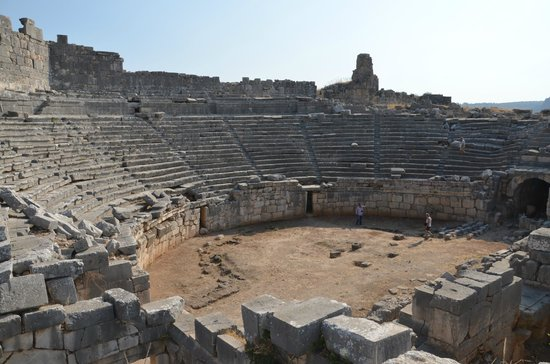 Xanthos - Lycian Antique City : Tiyatro