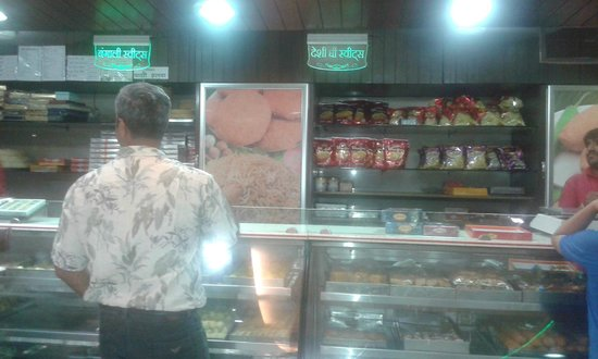 Janta Sweets: Shop Area