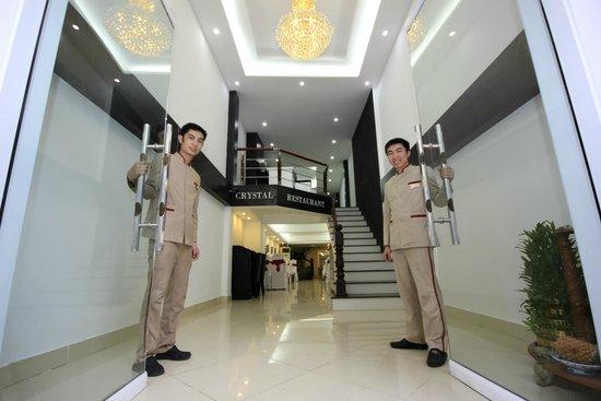 Hanoi Crystal Hotel: Crsytal Lobby