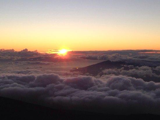 Haleakala Crater : Sunset