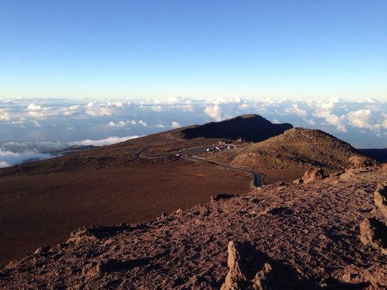 Haleakala Crater : Lower level parking