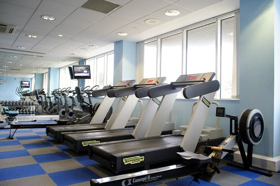 Grand Harbour Hotel: fully Equipped Gymnasium