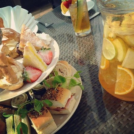 Grand Harbour Hotel: Limited Edition Pimms Afternoon Tea