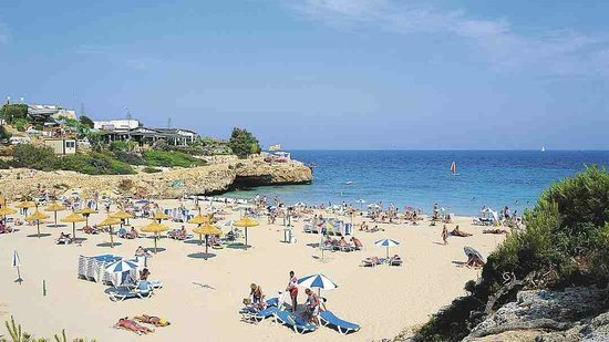 Complejo Calas de Mallorca: The beach which is a 15 minute walk from hotel