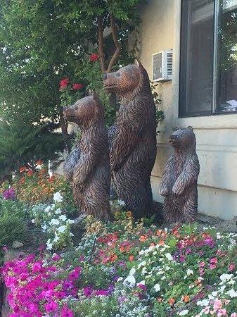 Comfort Inn Yosemite Area: cute bears