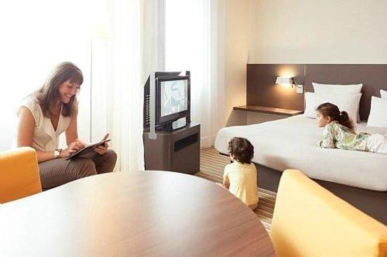 Novotel Suites Paris Roissy CDG : SUITE FAMILLE