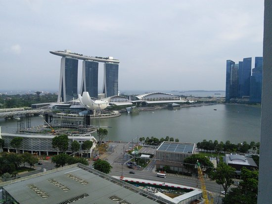Marina Mandarin Singapore: View from our room