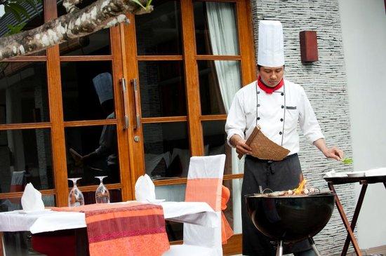 The Wolas Villas & Spa: BBQ