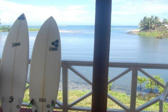 Salani Surf Resort : View from fale
