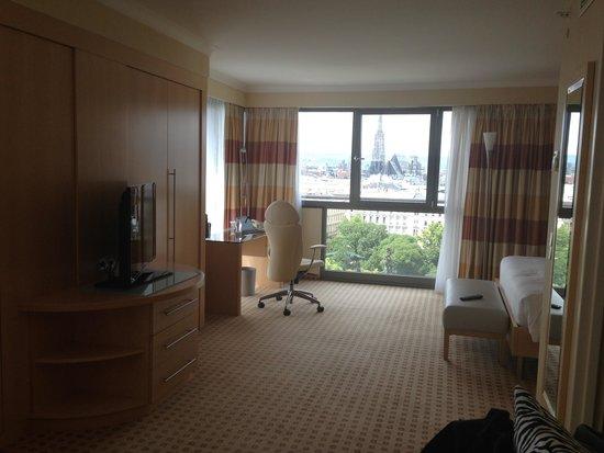 Hilton Vienna: My room.