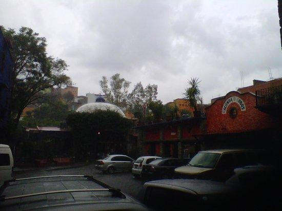 Hacienda De Cobos: The view from my room