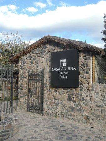 Casa Andina Classic Colca: ingresso