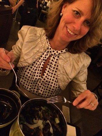 Brasserie Appelmans : mosselpannetje met room en look