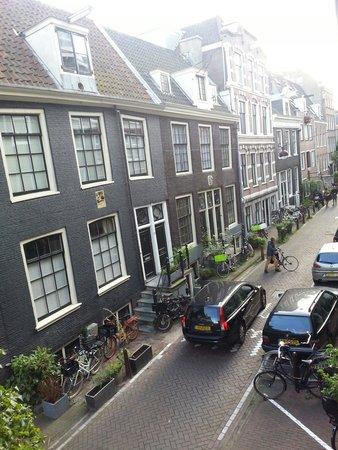 Prinsenstede Lodging Amsterdam: Dalla finestra...