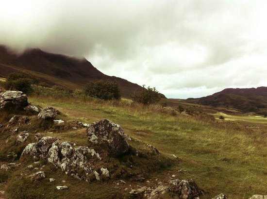 The Old Rectory on the Lake: View climbing Cadair Idris