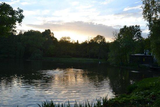 Łazienki-Park (Park der Bäder): Lazienski park