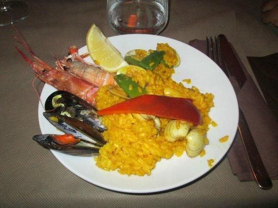 Restaurante Sa Casa: Paella de mar