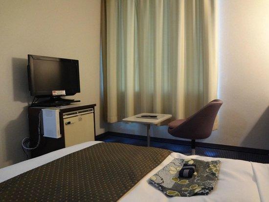 Kumamoto Kotsu Center Hotel: 浴衣は和風の柄でした