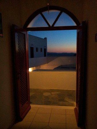 Artemis Hotel: Vista dalla camera