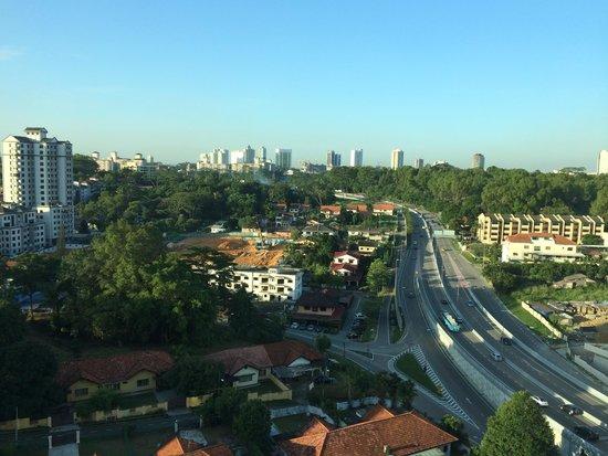 Thistle Johor Bahru: city view
