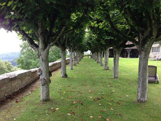 Hattonchatel Chateau : garden