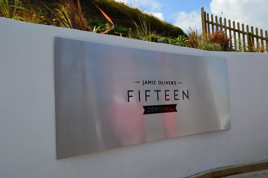 Jamie Oliver's Fifteen Cornwall: Entrance