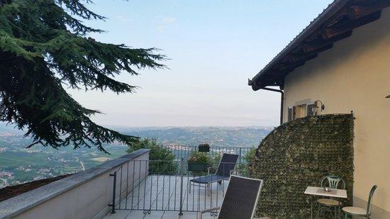 Rocche Costamagna Art Suites : uitzicht