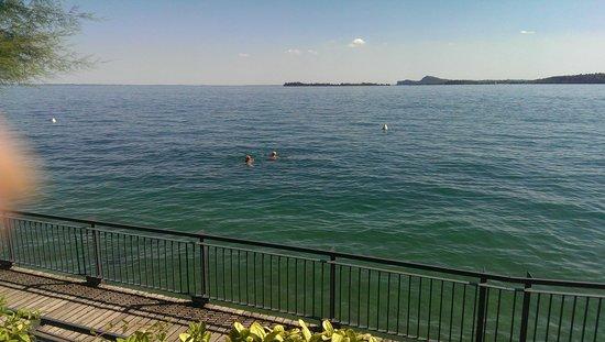 Bellariva Hotel: Hotel from the Lake