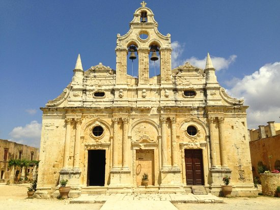 Sacred Monastery of Arkadi : La facciata