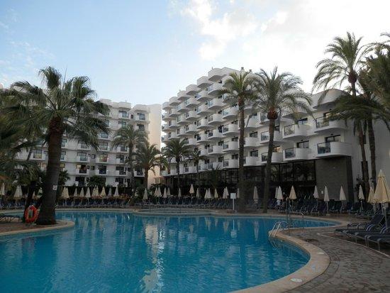 Protur Palmeras Playa Hotel: Pool area
