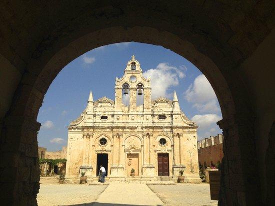 Sacred Monastery of Arkadi : La volta d'entrata