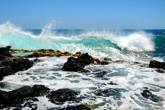 Poipu Beach Park: waves