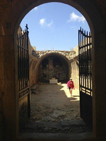 Sacred Monastery of Arkadi : Il cortile della memoria