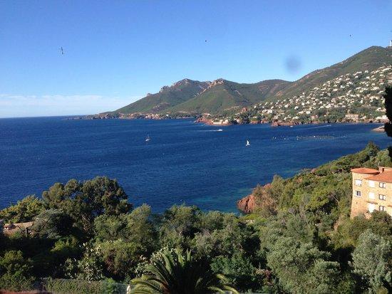 Hôtel Tiara Yaktsa Côte d'Azur. : La vue sur l'Esterel