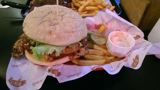 Bodean's BBQ - Soho: Chicken Burger