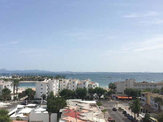 Globales Condes de Alcudia: The view from the 6th floor