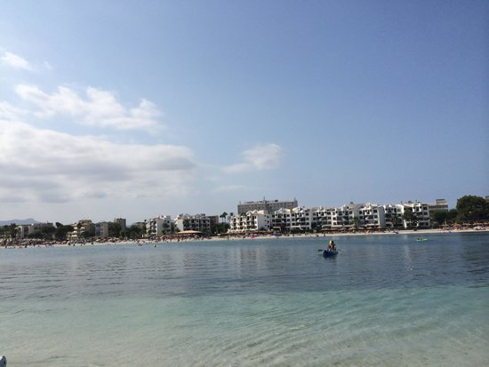 Globales Condes de Alcudia: The beach