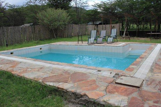 Kimana Camps: La piccola piscina