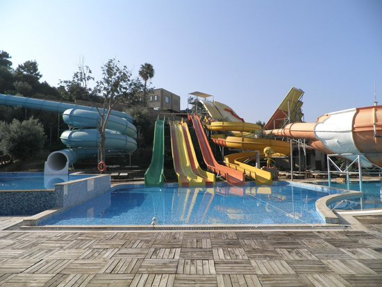 Ersan Resort & Spa: parc aquatique