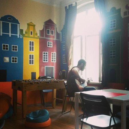 Poco Loco Hostel : Common Room