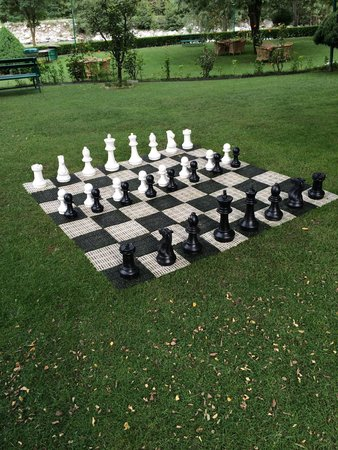 Span Resort & Spa: Chess for the kids!!
