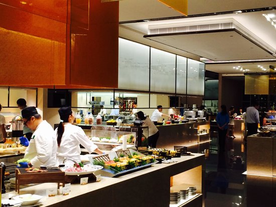Open Kitchen Picture Of Congress Plus Hong Kong