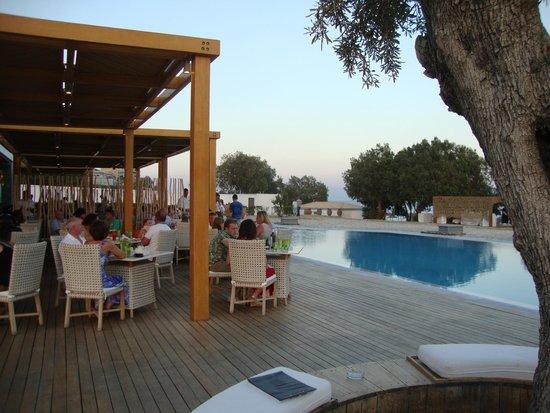 Mitsis Blue Domes Resort & Spa: Beach a la carte restaurants