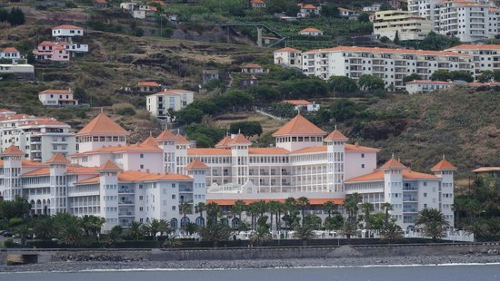 Hotel Riu Palace Madeira : wiev from the sea